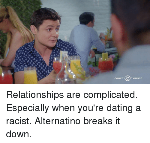 Dating is complicated