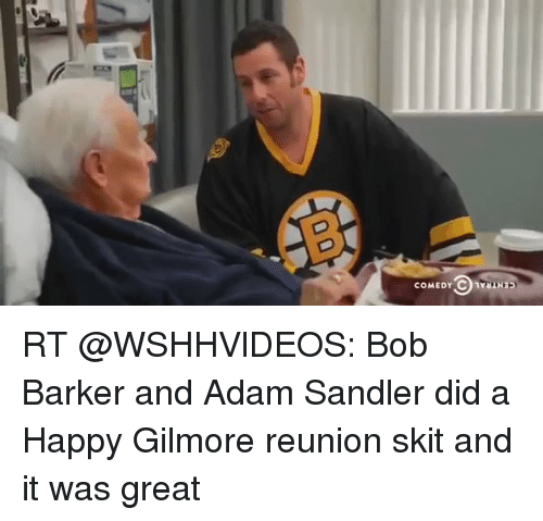humour comedy and happy gilmore Adam sandler's 1996 comedy happy gilmore is a hilarious movie, and happy's explanation here about why he was put on the earth to play hockey is a classic example also ranked #1 on the best and worst of adam sandler.
