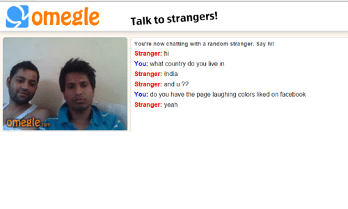 talk with strangers chat