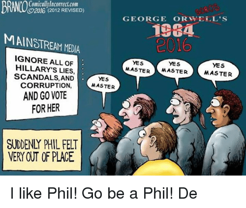 Funny Go Vote Meme : Comicalllllcorrectcom revised george or well s