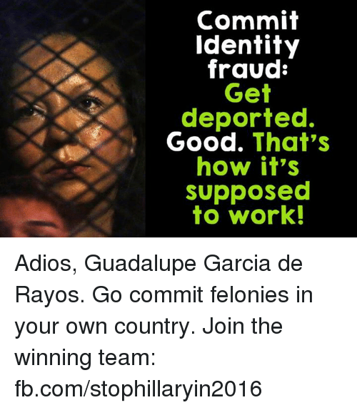 Image result for Guadalupe del Rayos identity theft