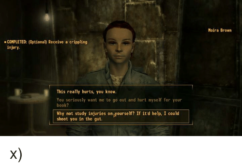 fallout 3 survival guide crippling injury