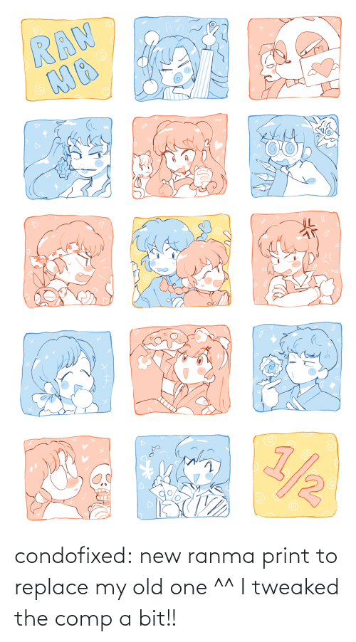 comp: condofixed:  new ranma print to replace my old one ^^ I tweaked the comp a bit!!