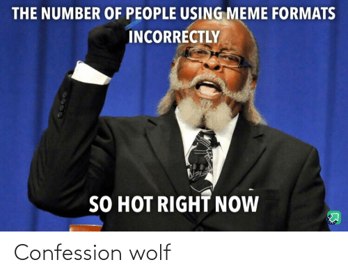 confession: Confession wolf