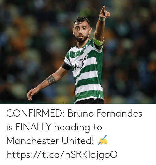 Manchester United: CONFIRMED: Bruno Fernandes is FINALLY heading to Manchester United! ✍️ https://t.co/hSRKlojgoO