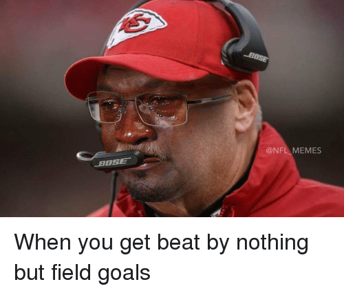 Football, Nfl, and Sports: CONFL MEMES When you get beat by nothing but field goals