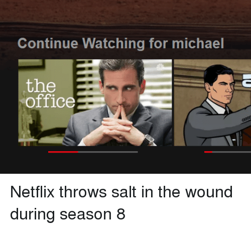 Netflix, The Office, And Michael: Continue Watching For Michael The Office  Netflix Throws