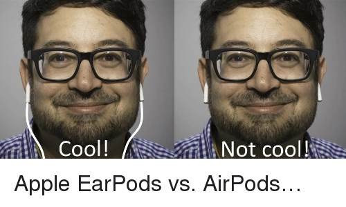 Image result for airpods meme