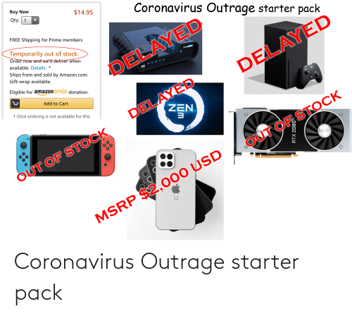 Outrage: Coronavirus Outrage starter pack