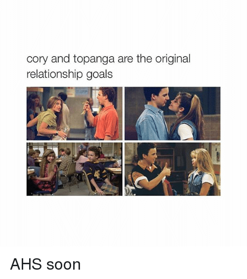cory and topanga relationship goals instagram