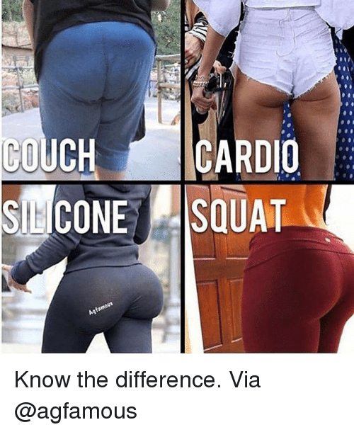Gym, Couch, and Via: COUCH CARDIO Know the difference. Via @agfamous
