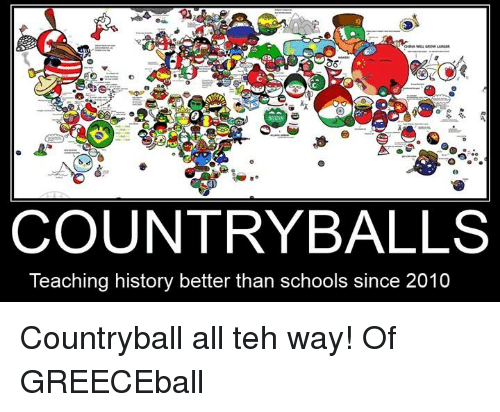 Country Balls Teaching History Better Than Schools Since