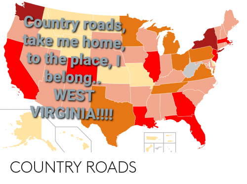 Country Roads: COUNTRY ROADS
