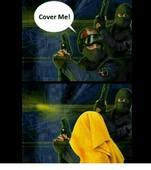 Cover Me: Cover Me!