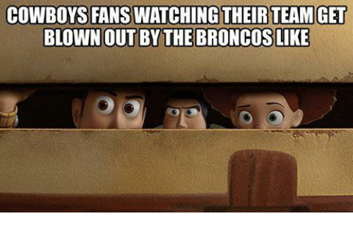 Dallas Cowboys, Nfl, and Their: COWBOYS FANS WATCHING THEIR TEAMGET  BLOWNOUT BYTHEBRONCOSLIKE