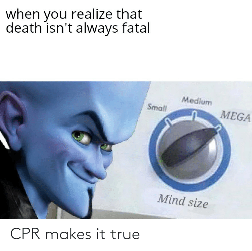 cpr: CPR makes it true