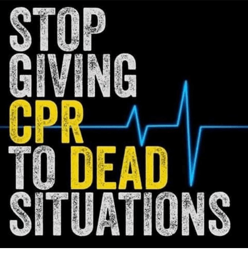 CPR TO DEAD SITUATIONS