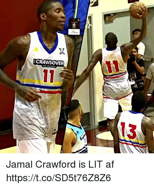 Lit AF: CRAWSOVER  13 Jamal Crawford is LIT af https://t.co/SD5t76Z8Z6