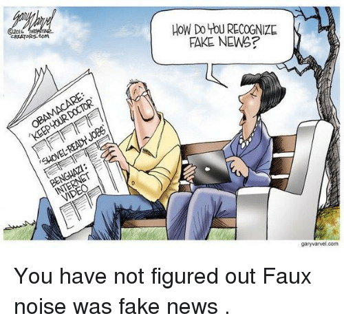 Memes, 🤖, and Creator: CREATORS Com  DOCTOR  TOUR KEEP SHOVEL  INTERNET  HOW Do YOU RECOGNIZE  FAKE NEWS  garyvarvel.com You have not figured out Faux noise was fake news  .