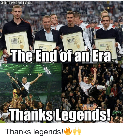 awe: CREDITS AWE.ARE,FUTBOL  The End of an Era  Thanks legends! Thanks legends!🔥🙌