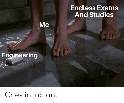 Indian: Cries in indian.