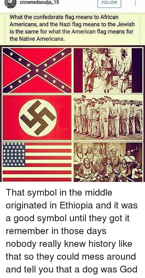 Crownedsoulia 15 Follow What The Confederate Flag Means To African