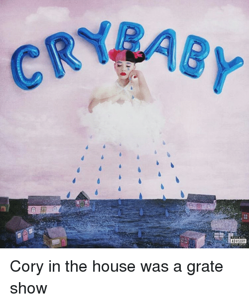 Corys In The House: CRYBAEy  A Cory in the house was a grate show