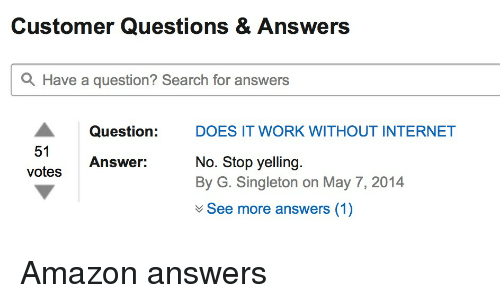 answers search working