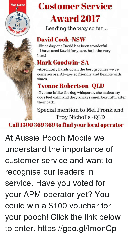 what factors drive demand for aussie pooch mobile s services