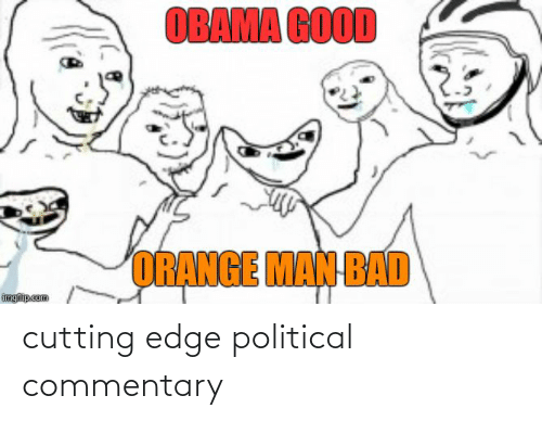 cutting: cutting edge political commentary