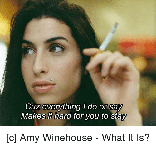 cuz everything i do or say makes it hard for 1094294 cuz everything i do or say makes it hard for you to stay c amy,Everything I Do I Do It For You Meme
