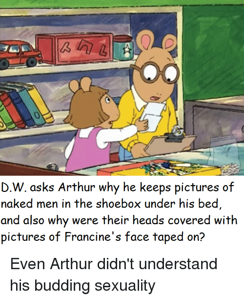 pictures of francine from arthur naked