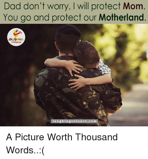 Mommy will protect you