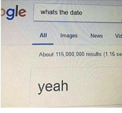 whats a date