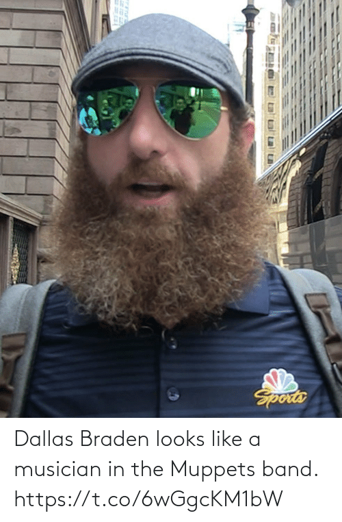 sports: Dallas Braden looks like a musician in the Muppets band. https://t.co/6wGgcKM1bW