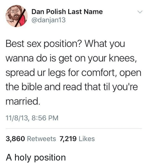 sex positions with their names