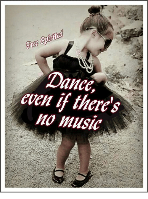 Memes, Music, and Dance: Dance,  even if there's  Mo music