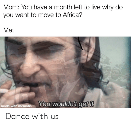 Dance: Dance with us