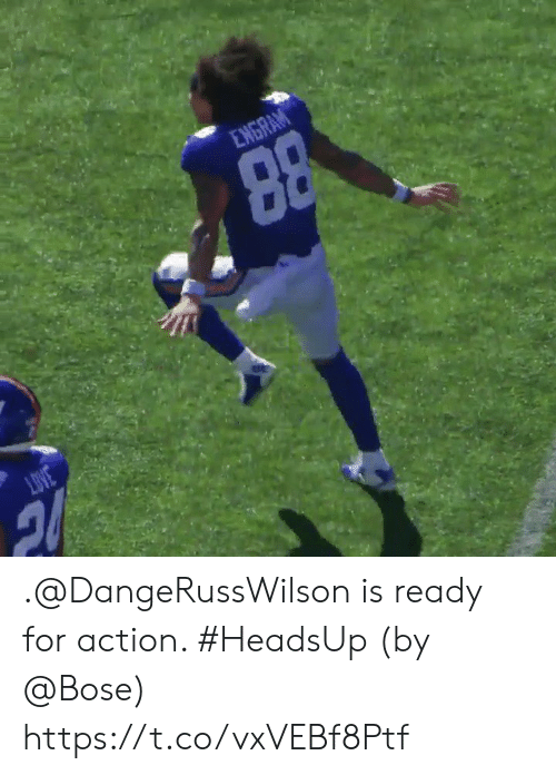 bose: .@DangeRussWilson is ready for action. #HeadsUp  (by @Bose) https://t.co/vxVEBf8Ptf
