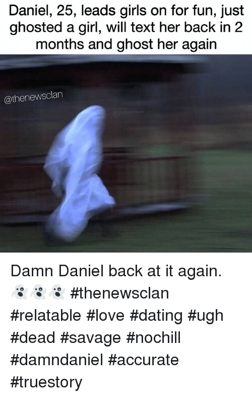 ghosted dating reddit