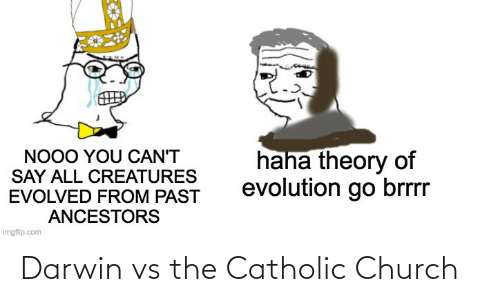 Church: Darwin vs the Catholic Church