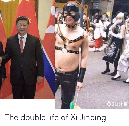 the double: Dasen  a m The double life of Xi Jinping