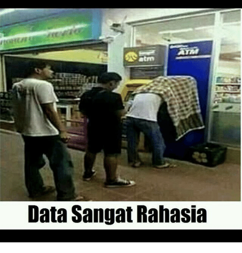 Indonesian (Language) and Data: Data Sangat Rahasia