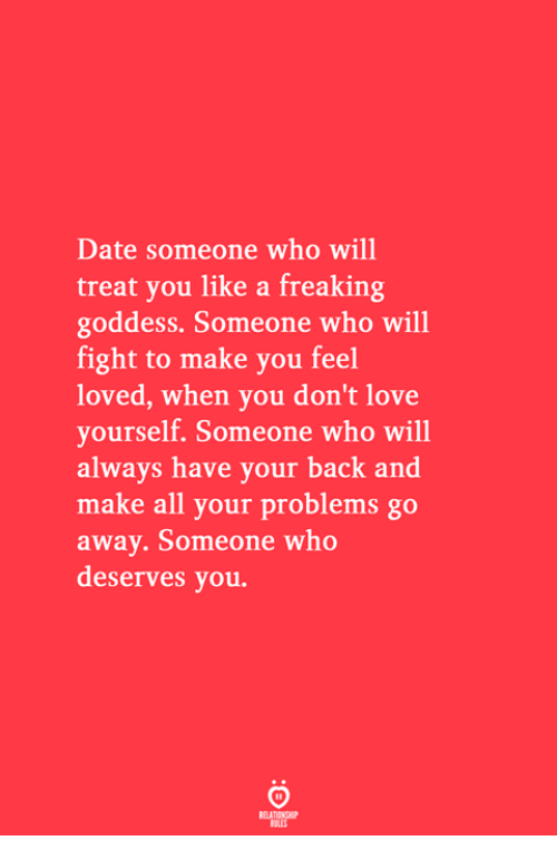 Dating someone like yourself