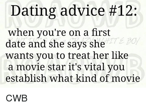 Dating tips first date