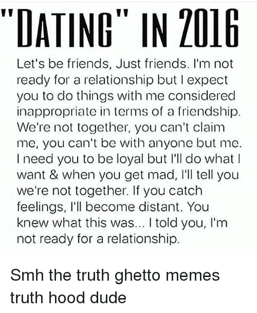 The truth about dating love and just being friends