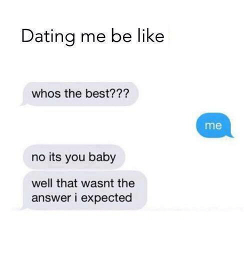 If dating was like