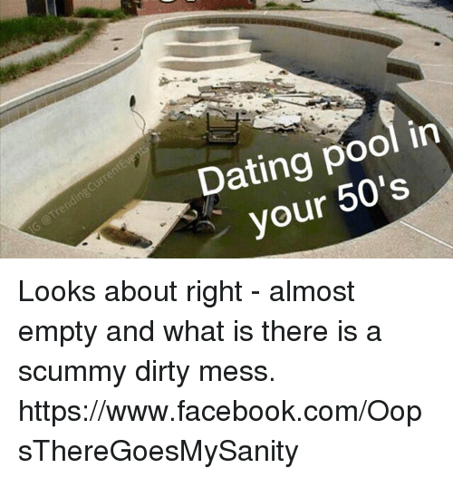 Dating pool at 50