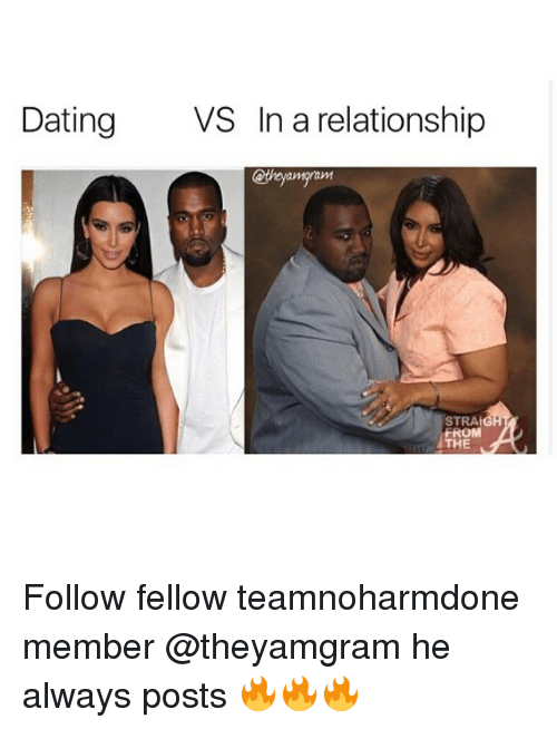 the difference between dating and being in a relationship