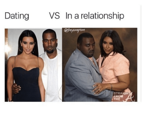 Dating vs committed relationship